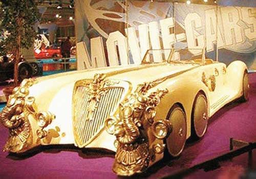 弥天大谎,世界上最贵的黄金跑车乃道具